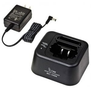 Icom [BC-119N-51] Rapid Charger with AD100 Adapter Cup