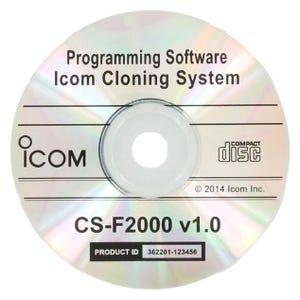 Icom [CS-F2000] Programming/Cloning Software