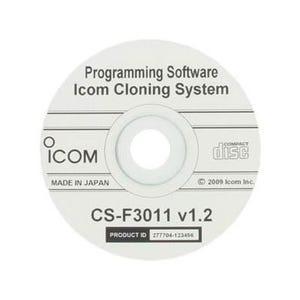 Icom [CS-F3011] Programming/Cloning Software