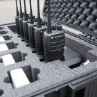 Custom Cut Foam for Two Way Radio Case - Amerizon
