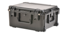 SKB 3i-2217-12BE Case - No Foam w/ Wheels