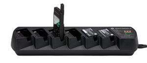 Motorola PMLN6687A Six-Pocket-Multi-Unit Charger with Power Cord