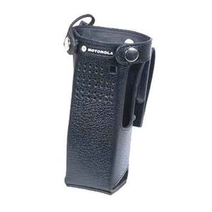 Motorola NNTN8111B APX 7000XE LEATHER CASE with D-Rings