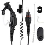 """Motorola NNTN8189C Operations-Critical Wireless Earpiece With 12"""" Cable"""