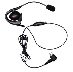 Motorola PMLN6537A Mag One Earset with Boom Microphone and In-Line PTT/VOX Switch
