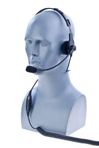 Impact [M1-POH-2] Over the Head Style Single Muff Headset