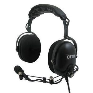 Icom [OTTO V4-10469-S] Dual Muff Headset (IS Approved)