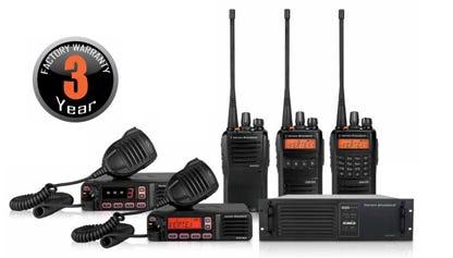 Vertex Three-Year Radio Warranty