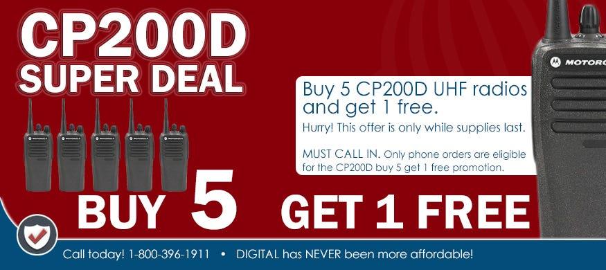 CP200D buy five get one
