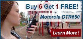 Motorola DTR650 Promotion