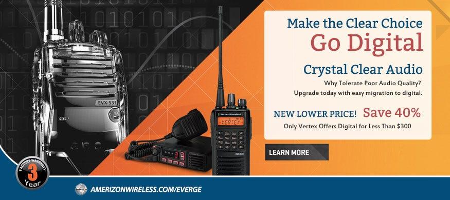 Vertex Standard EVX Digital Radios