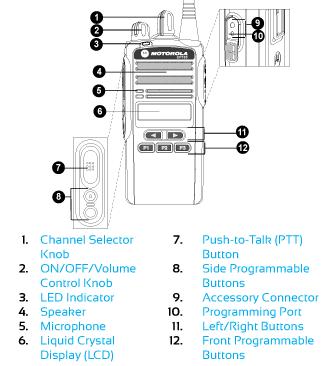CP185 Controls