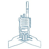 Motorola Radios Easy-to-Read Displays