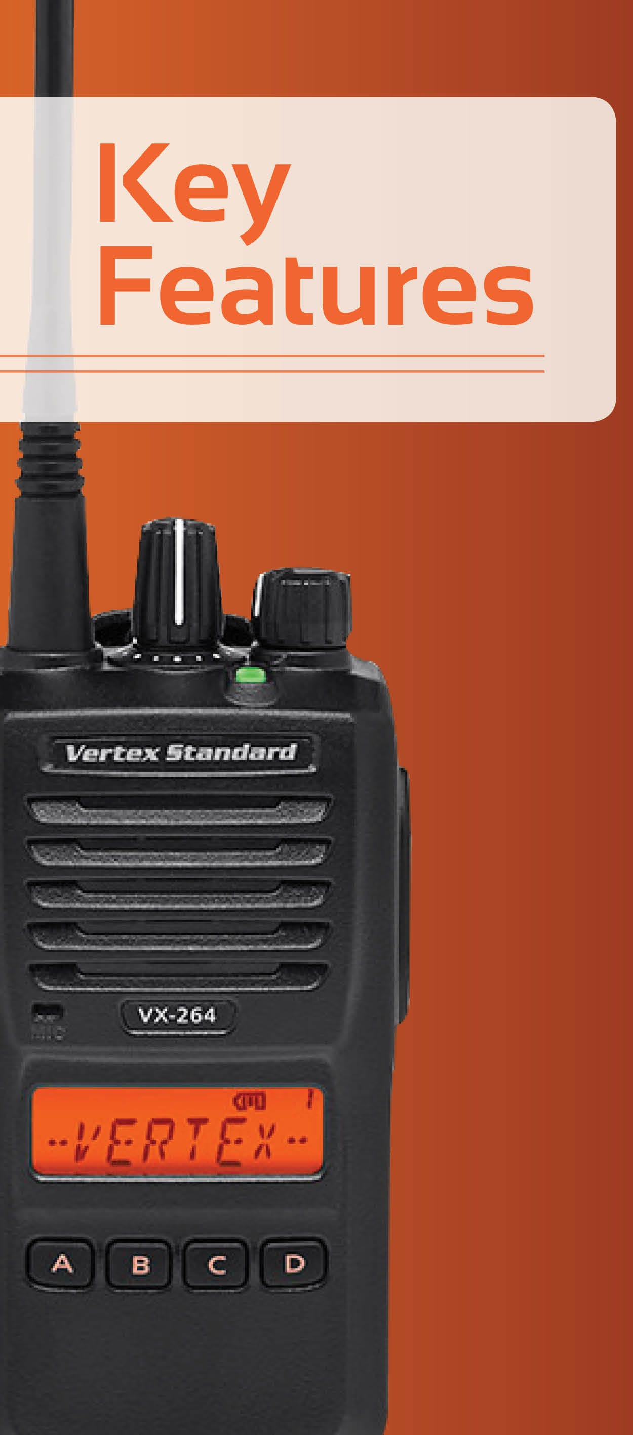 Vertex VX-264 Features