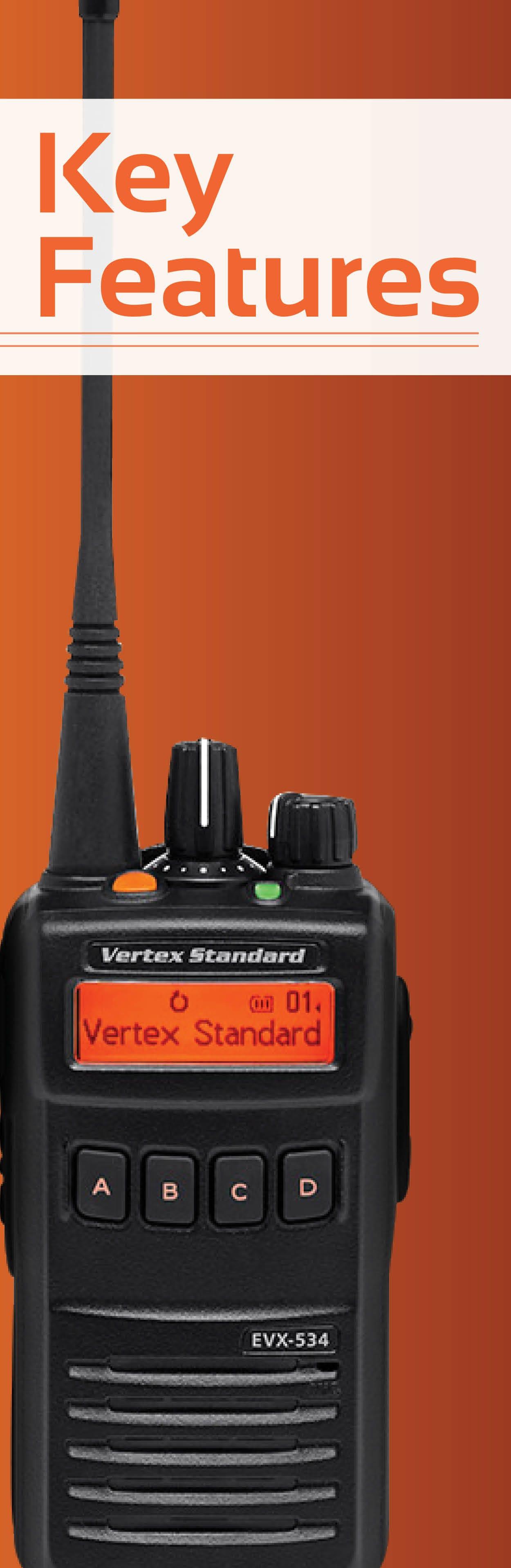 Vertex EVX-534 Features