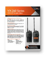 Vertex VX-261 Spec Sheet