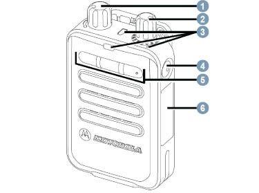 Motorola Minitor VI Pager - Controls